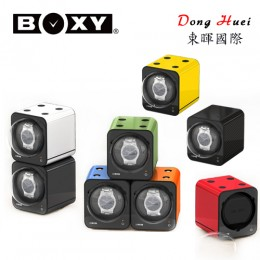 【BOXY手錶自動上鍊盒】Fancy Brick系列 自由堆疊 搖錶器 15種轉速設定(不含變壓器)