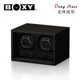 東暉國際代理 BOXY手錶自動上鍊盒收藏盒 Safe ECO-02  三種轉速設定 可放保險箱(黑色皮革)