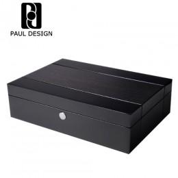 東暉代理 英國 PAUL DESIGN GEN-10 高級機械錶收納盒 珠寶手錶收藏盒 錶盒10支/10格/10入裝