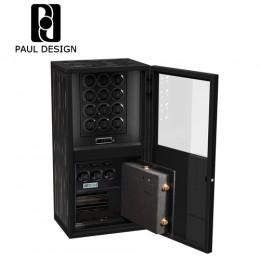 東暉代理 PAUL DESIGN 英國保羅設計- ILLUSION 32轉座手錶自動上鍊保險櫃 收藏保險櫃