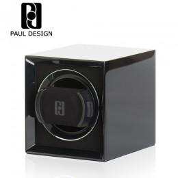 東暉國際代理 PAUL DESIGN PETITE 1 英國保羅設計(免插電)手錶自動上鍊盒可收藏保險箱 旋轉盒 搖錶器 收藏盒