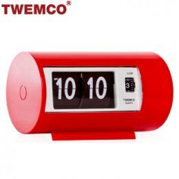 TWEMCO AP-28 系列 翻頁鐘 機械式德國機芯 圓筒小鬧鐘