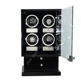 東暉國際代理 EURO PASSION 4+8 瑞士經典手錶自動上鍊盒收藏盒 多種模式獨立設定簡易操作旋轉盒 搖錶器錶盒