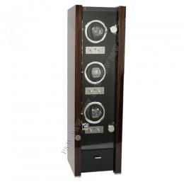東暉國際代理 EURO PASSION 3+1 瑞士經典手錶自動上鍊盒收藏盒 多種模式獨立設定簡易操作旋轉盒 搖錶器錶盒