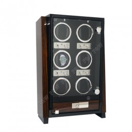 東暉國際代理 EURO PASSION 6 瑞士經典手錶自動上鍊盒收藏盒 多種模式獨立設定簡易操作省電耐用 旋轉盒 搖錶器 錶盒